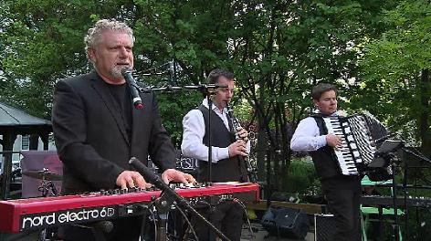 Roman Grinberg & Klezmer Trio