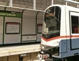 Die Sanierung der U4-Stationen geht weiter. Im Bild die Station Roßauer Lände