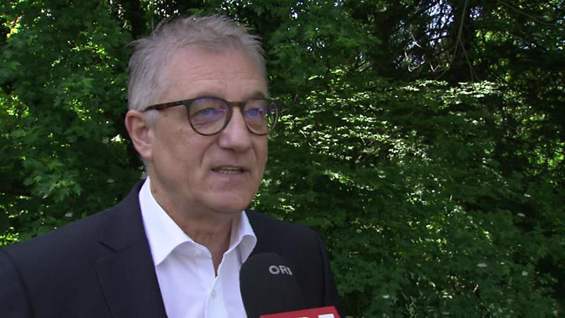 SPÖ-Landesparteiobmann Walter Steidl