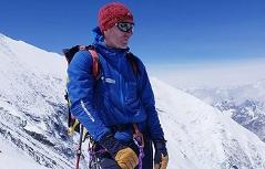 Rupert Hauer auf dem Mount Everest