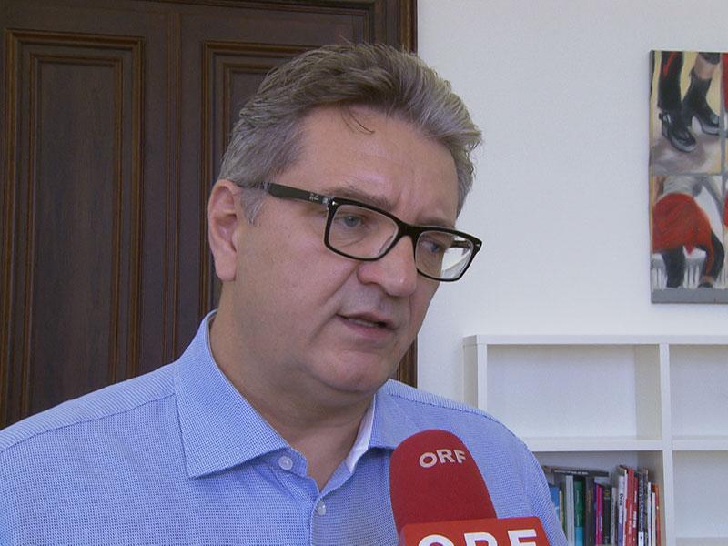 Der Wiener Gesundheits- und Sozialstadtrat Peter Hacker (SPÖ)