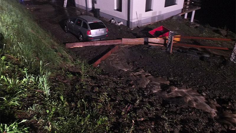 Unwetter Muren Deutsch-Griffen Innerteuchen Himmelberg