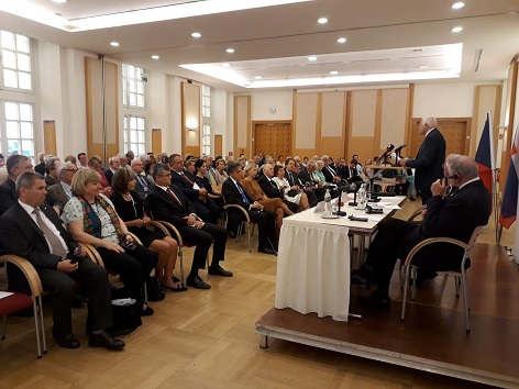 sál diplomatické akademie Vídeň 23.5.2018