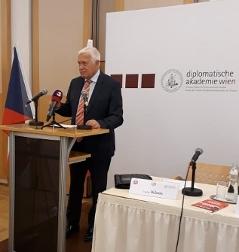 Václav Klaus ve Vídni