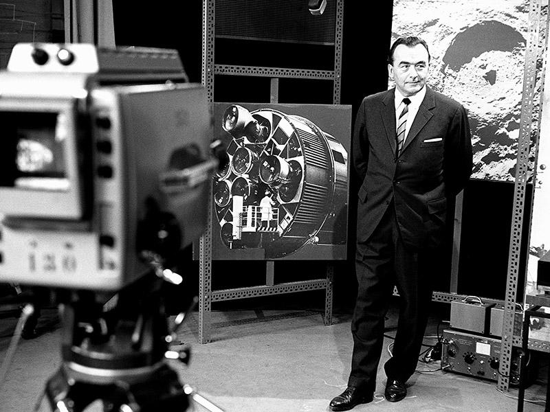 Pichler bei Mondlandungsübertragung