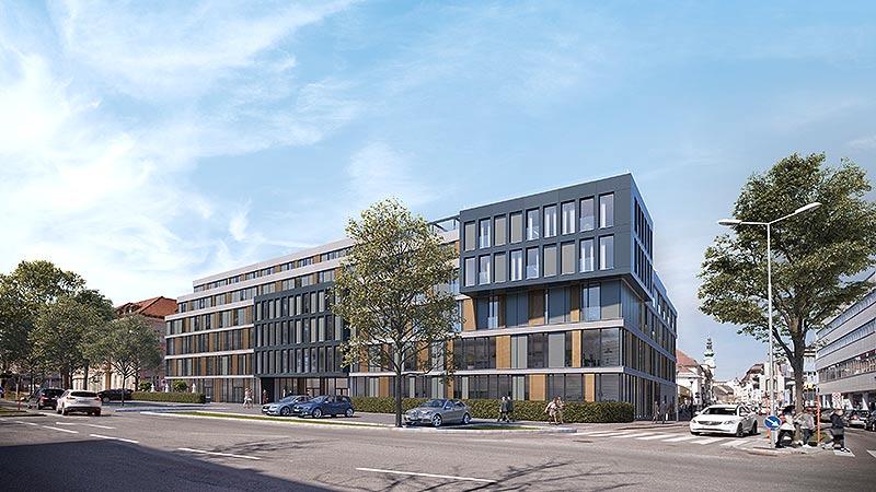 Pläne KTZ Gebäude und Flughafen