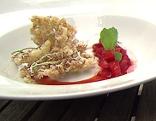 Kulinarium Gebackene Holunderblüten
