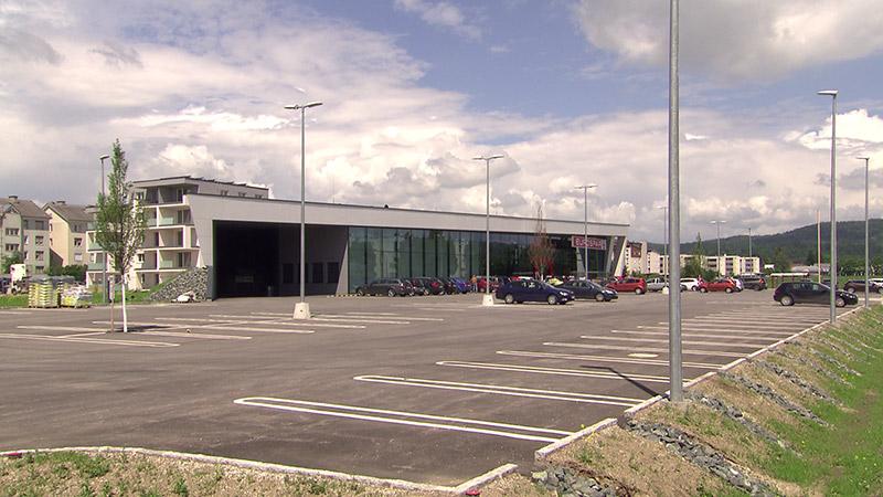 Parkplatz Bodenversiegelung Asphalt