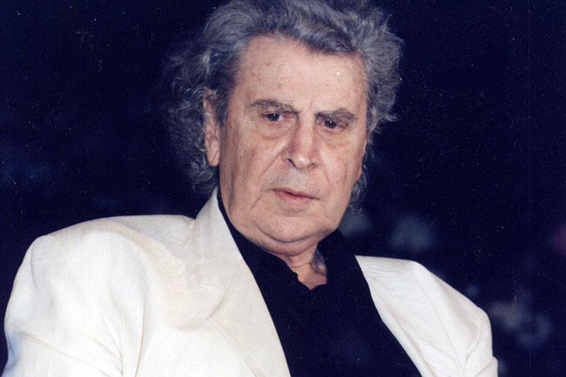 """Mikis Theodorakis, Komponist des weltberühmten """"Sirtaki"""""""