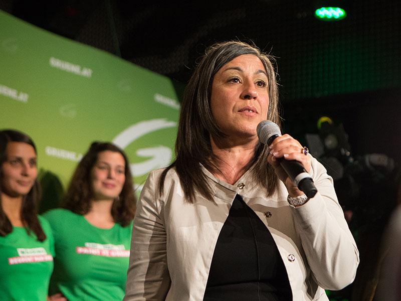 Verkehrsstadträtin Maria Vassilakou (Grüne)
