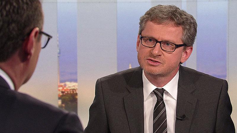 """Wolfgang Wagner in der """"Pressestunde"""""""