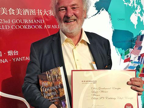 Kuharska knjiga nagrada gourmand cookbook okusi Wieser založba Kitajska