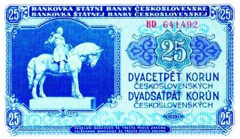 25 korun