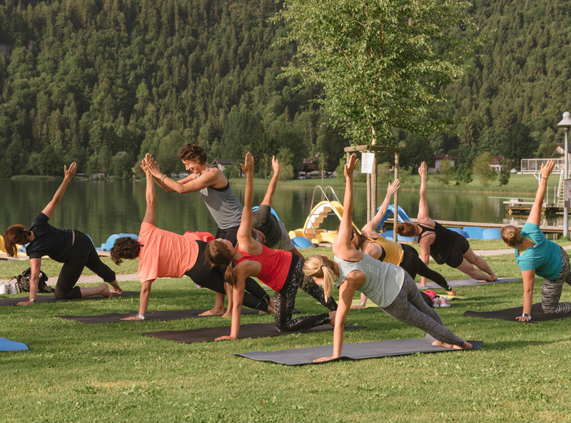 yoga am thiersee