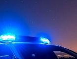 Blaulicht Polizei Nacht