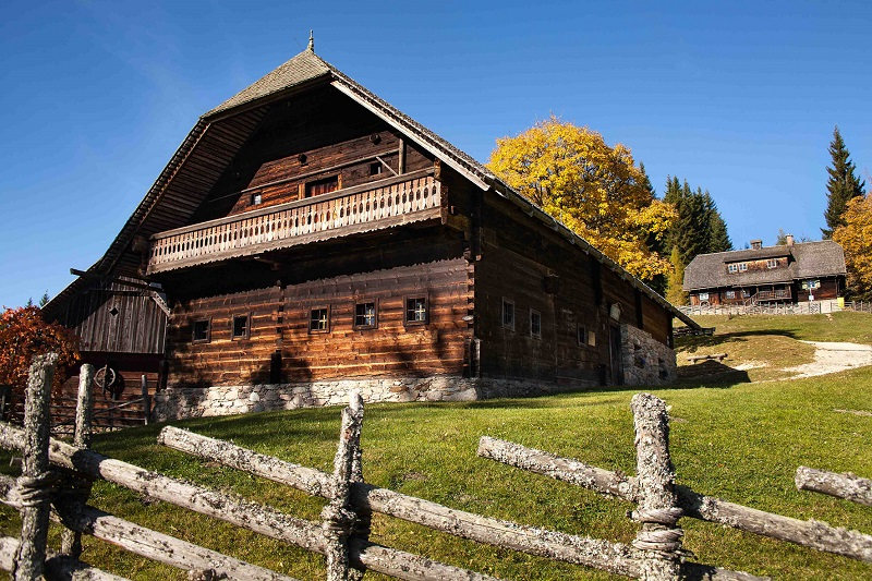 Der Kluppeneggerhof am Alpl, Geburtsort von Peter Rosegger