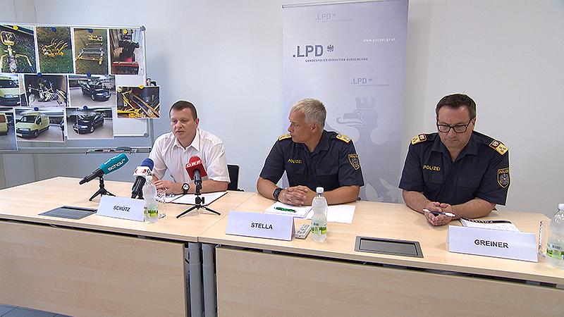 Polizei PK zu Einbrecherbande