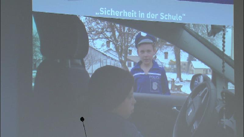 Sicherheitsvideo der Volksschüler aus St. Martin im Sulmtal