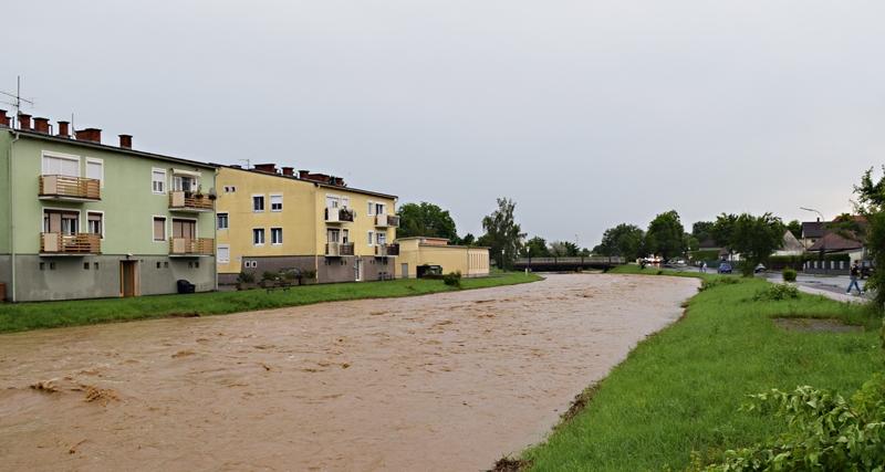 Unwetter in Pinkafeld