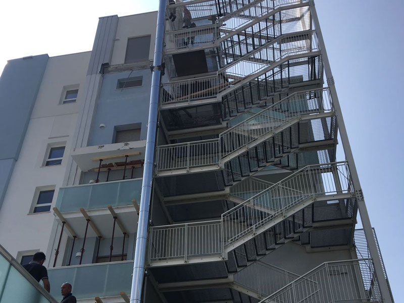 Abgestürzter Balkon in Jesolo