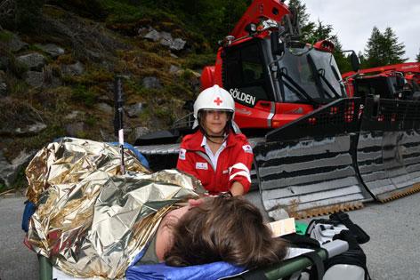 Katastrophenübung Ötztal