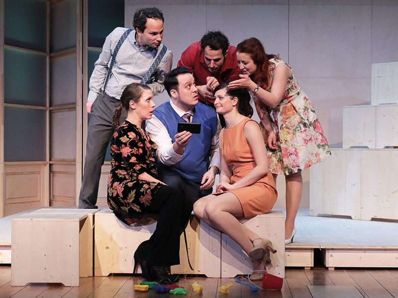 Szene aus Monsieur Claude und seine Töchter