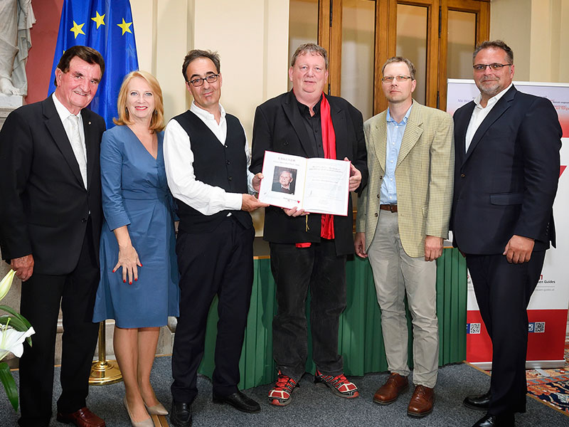 Refugius bei Hans Marsalek Preisverleihung
