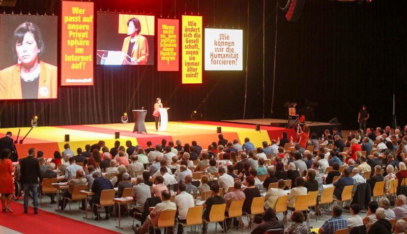 Landesparteitag der SPÖ in Linz