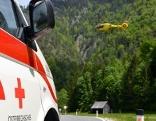 Rettung, Rotes Kreuz, Rettungsauto, Rettungshubschrauber