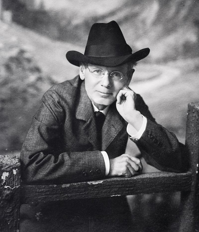 Peter Rosegger, Oktober 1909