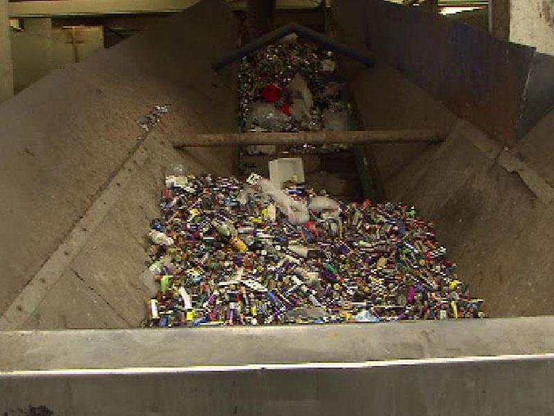 Recycling Anlage Saubermacher Bremerhaven