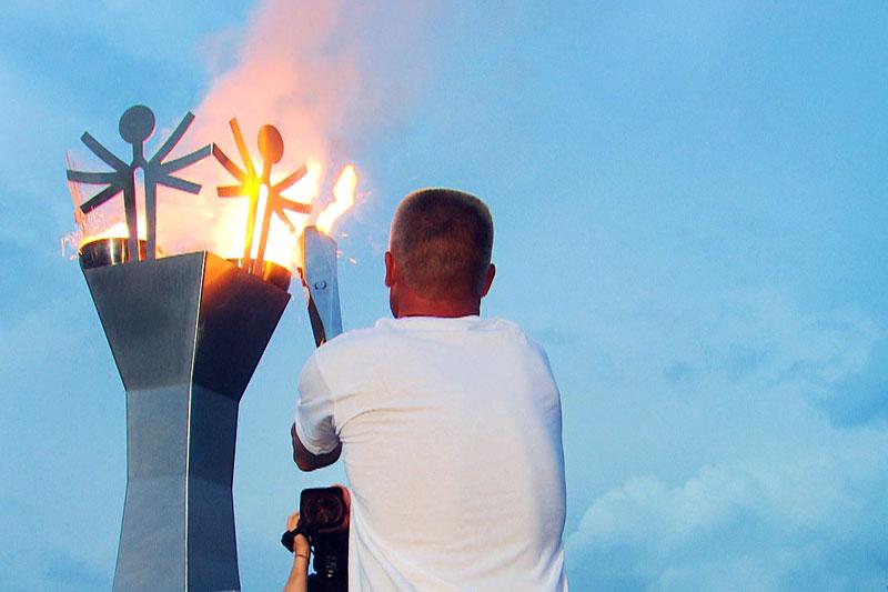 Eröffnung der Special Olympics in Vöcklabruck
