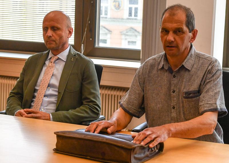 Markus Orgler und Markus Wilhelm