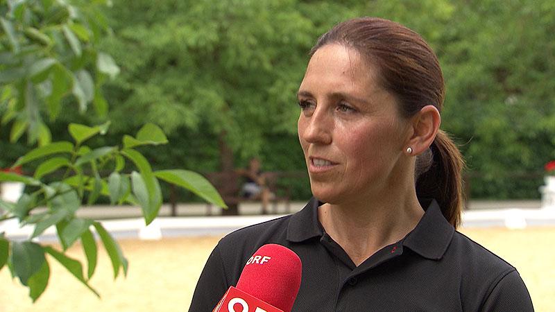 Dressurreiterin Belinda Weinbauer