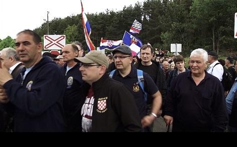 """Reportage """"Kroatische Hitlergrüße in Kärnten"""""""