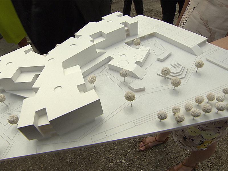 Modell Bildungscampus Leopoldstadt