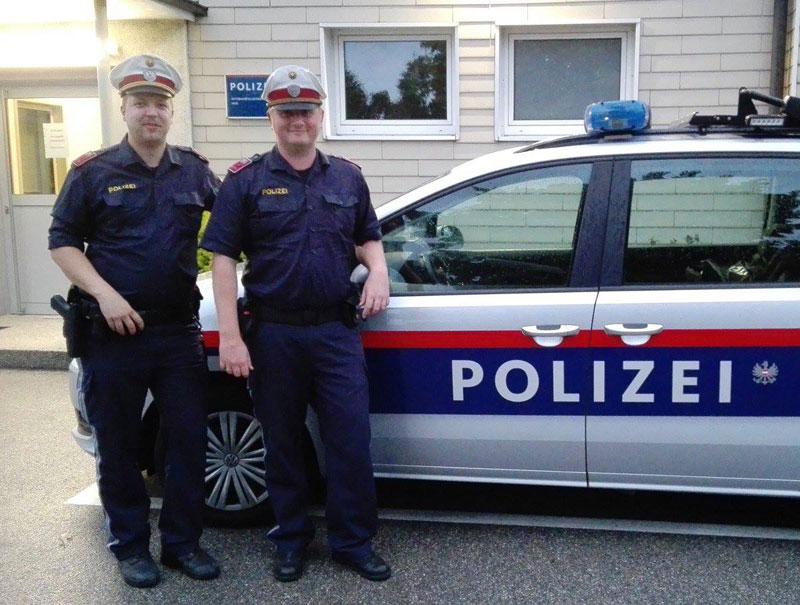 Die Lebensretter von der Autobahnpolizei Haid