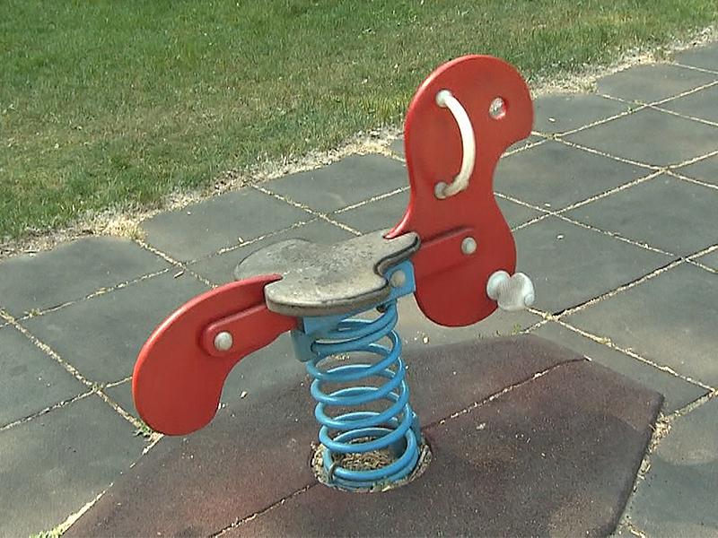 Spielgerät auf Spielplatz