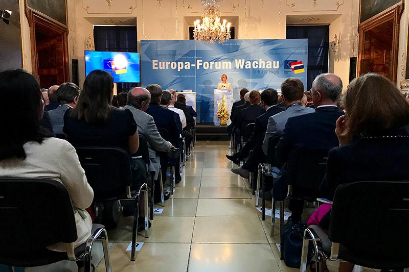Europa Forum Wachau zweiter Tag Mikl Leitner