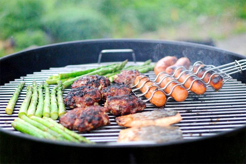 Griller Gegrilltes Barbecue
