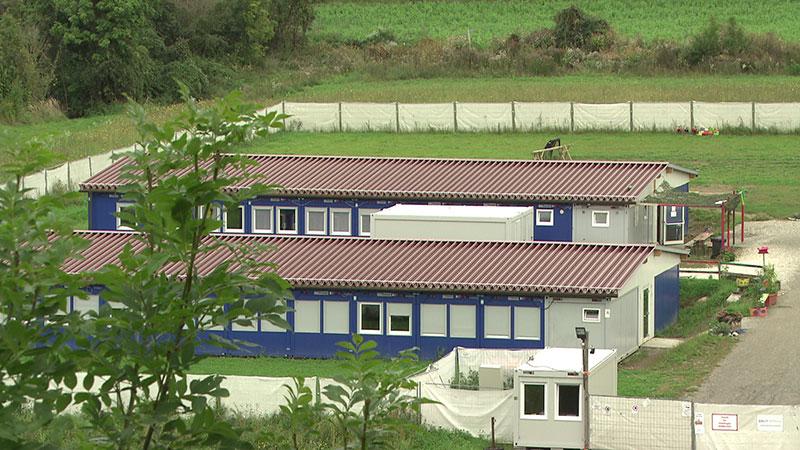 Flüchtlingssituation Asylwerberheim Krumfelden