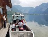 Paragleiteri  stürzt in Hallstätter See Hallstatt