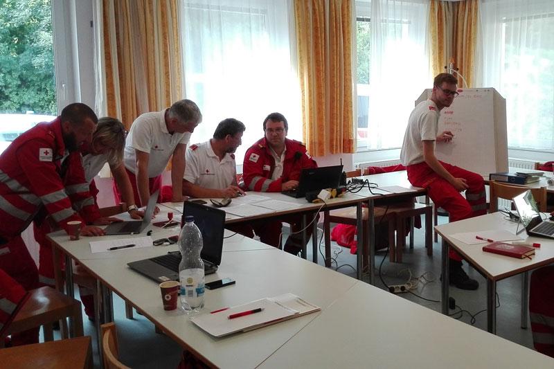 Rotes Kreuz Einsatz