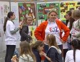 Kinder Mülltrennung Schulprojekt