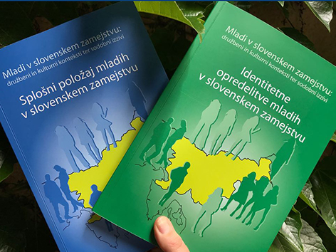 Knjiga raziskava manjšina mladina Leben Obid