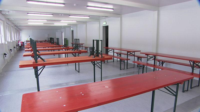 Flüchtlingssituation Bundesquartier