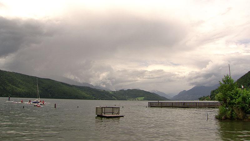Millstätter See Sommer Steg