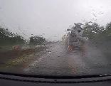 Starkregen Autofahren