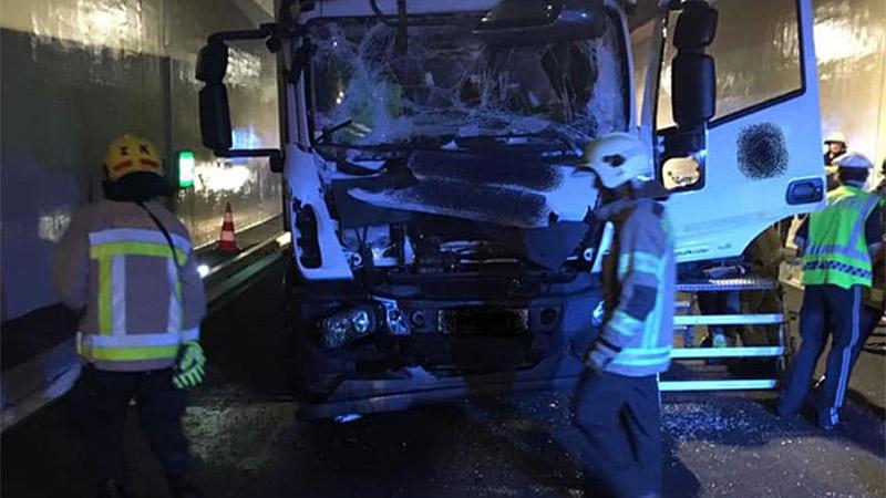 Unfall Lendorf Unterflurtrasse