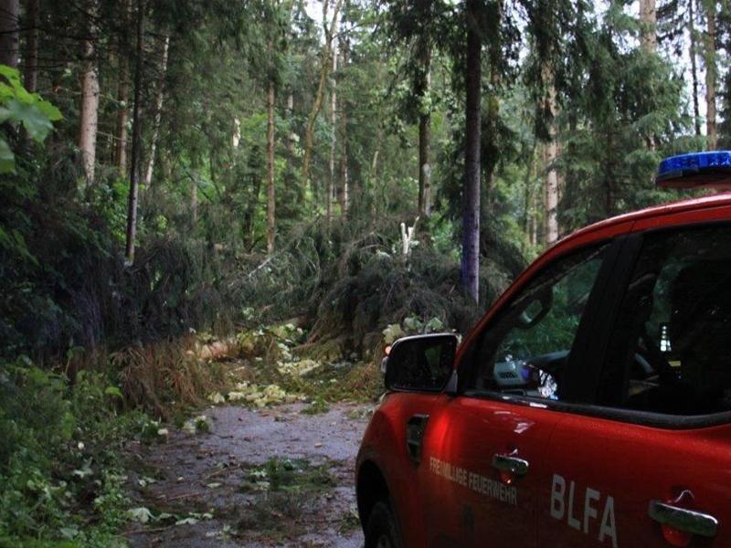 Unwetter auch im Bezirk Voitsberg